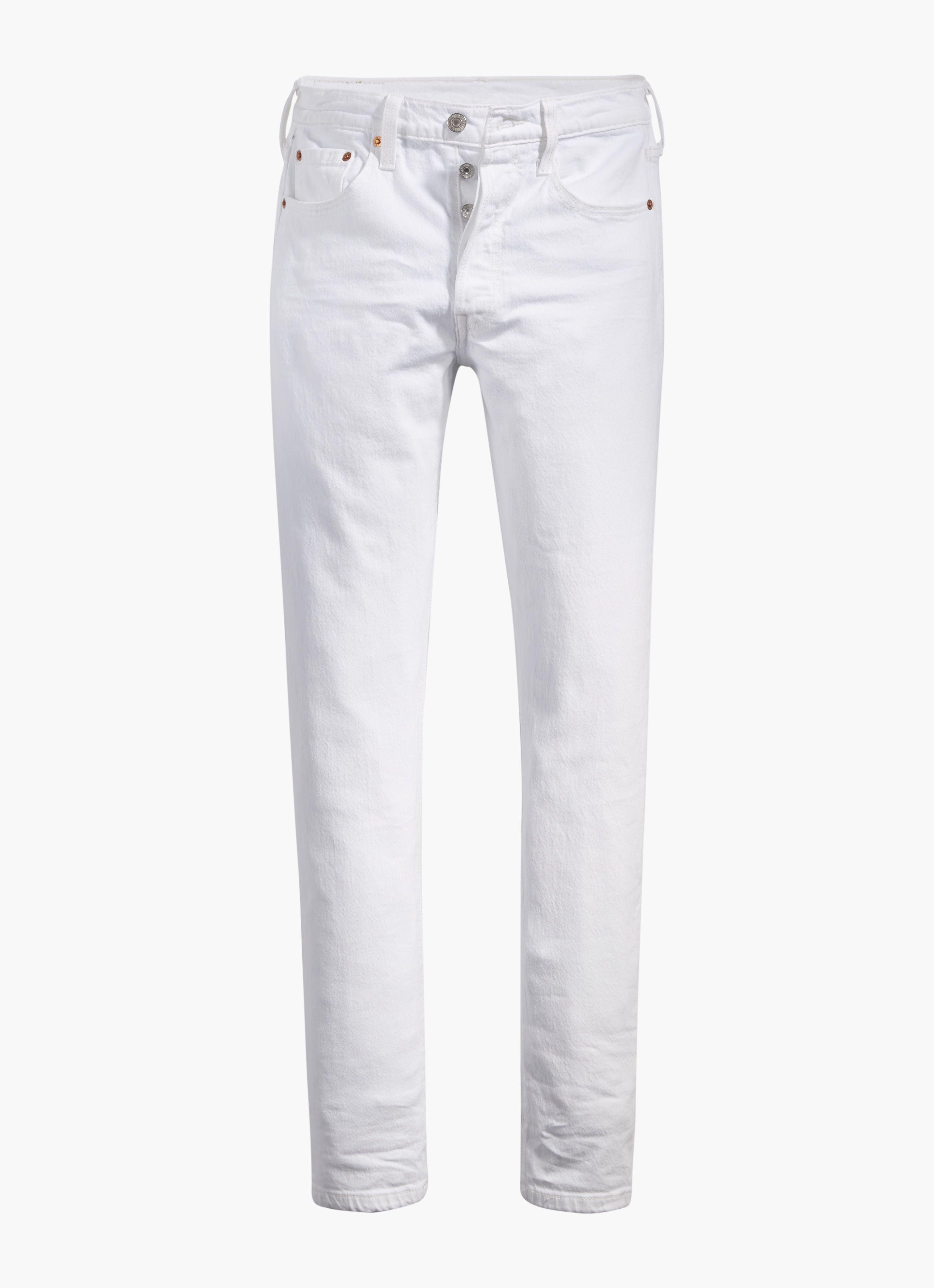 Terug van weggeweest: de witte skinny jeans