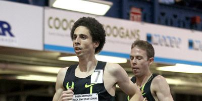 Cam Levins, Galen Rupp at Armory Invitational 2015