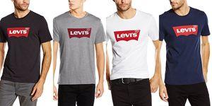camiseta levis logo amazon