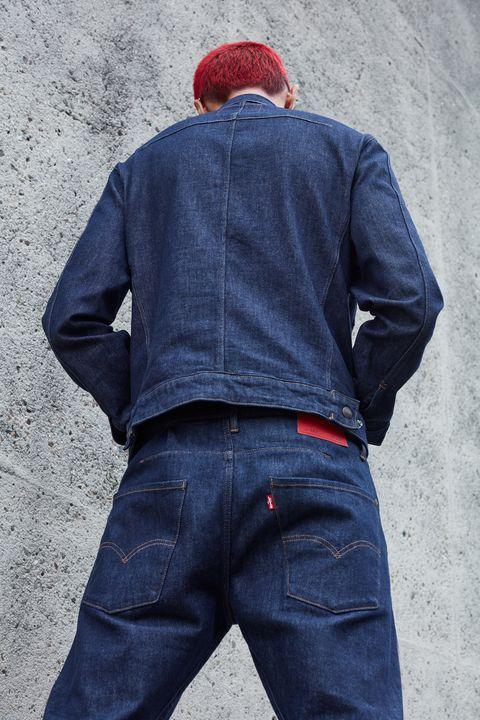Te Acuerdas De Los Pantalones Anchos De Costuras Retorcidas Los Levi S Engineered Vuelven Directos De Los 90
