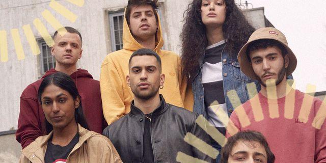 il legame tra i jeans levi's e la musica è forte e ora puoi capirlo perché arriva in italia levi's music project in supporto dei talenti musicali con mahmood