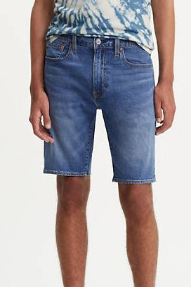 pantalones cortos, levi's, vaqueros