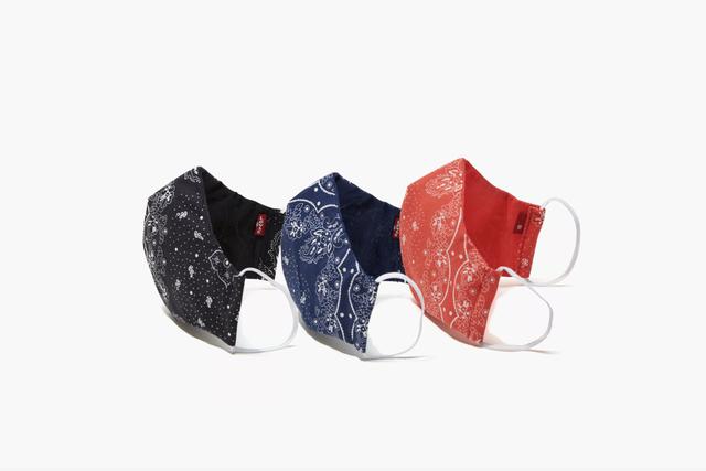 three face masks