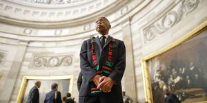 Rep. Elijah Cummings Lies In State At U.S. Capitol