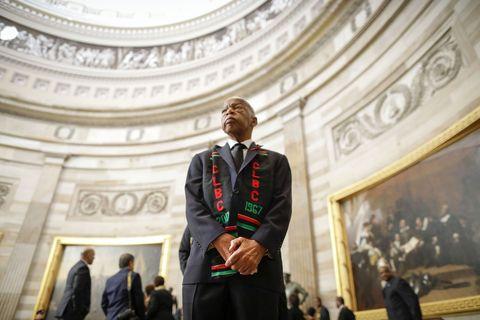 Rep. Elijah Cummings Lies In State At U.S. Capitol