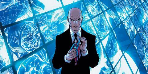 lex luthor supergirl aspecto