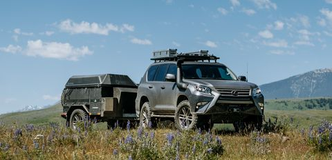 The Lexus GXOR Concept Is for Overlanders Who Want a Bit of Luxury