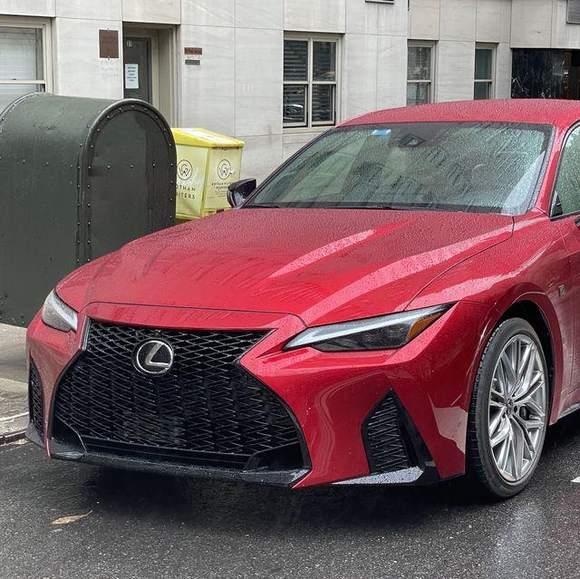 lexus is 500 f sport performance red 2022