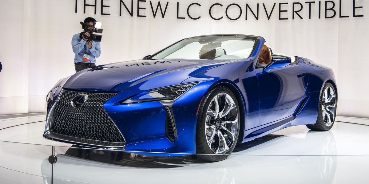 Nissan Certified Pre Owned >> 2021 Lexus LC500 Convertible Is Finally Here, and It's Gorgeous