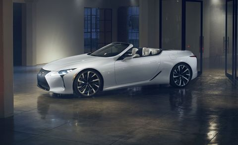 Lexus Lc Convertible Concept Stunning Droptop That S Ready To Cruise