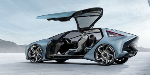 Lexus Finally Goes Electric with LF-30 Concept