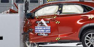 Lexus NX crash test