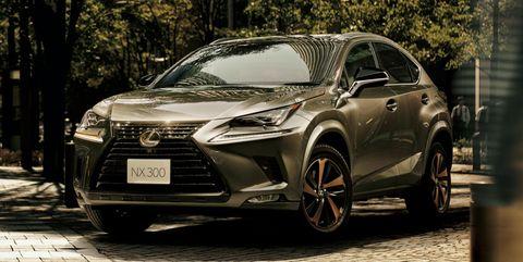 Lexus NX Bronze Edition