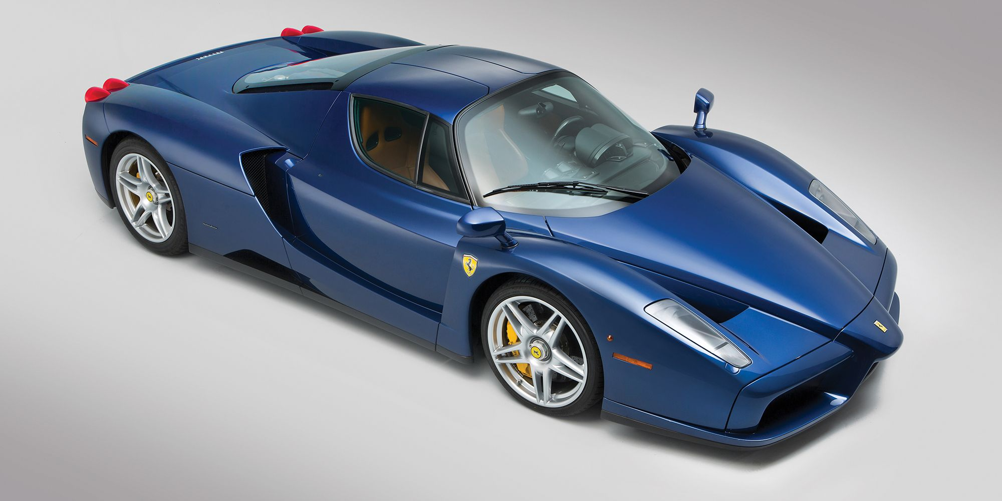 This Tour De France Blue Ferrari Enzo Is Lovely And Can Be Yours