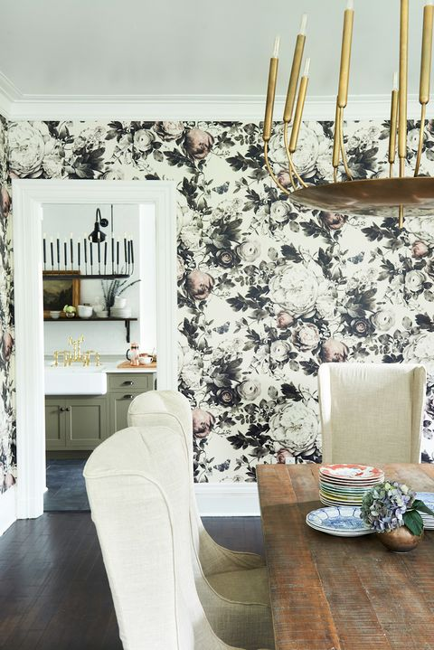 Wallpaper For Dining Room Modern.18 Dining Room Wallpaper Ideas That Ll Elevate All Your