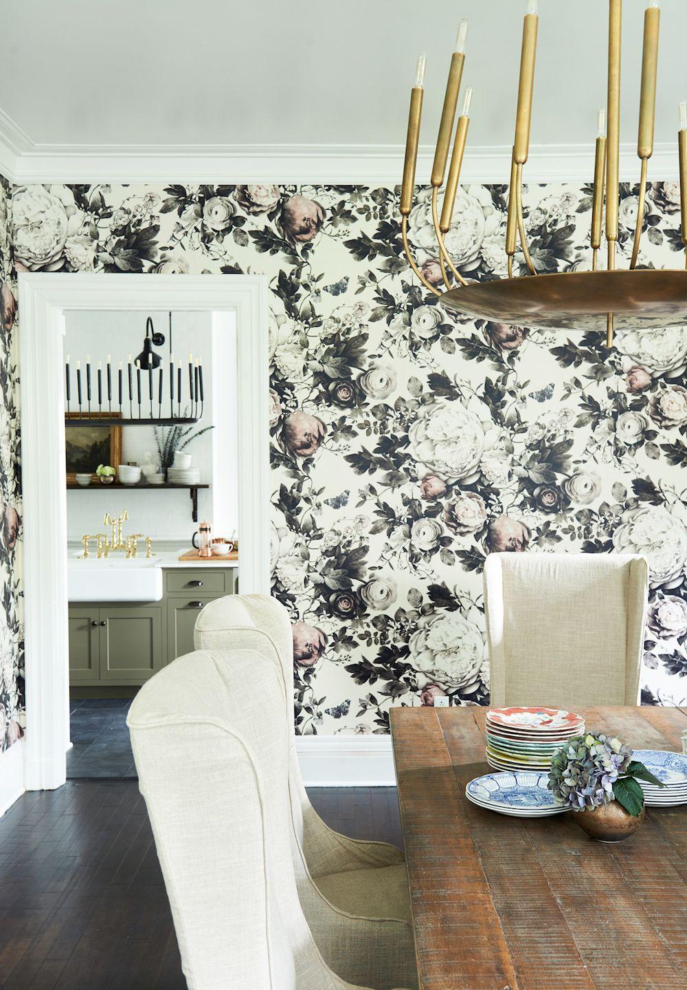 Good Modern Floral Wallpaper