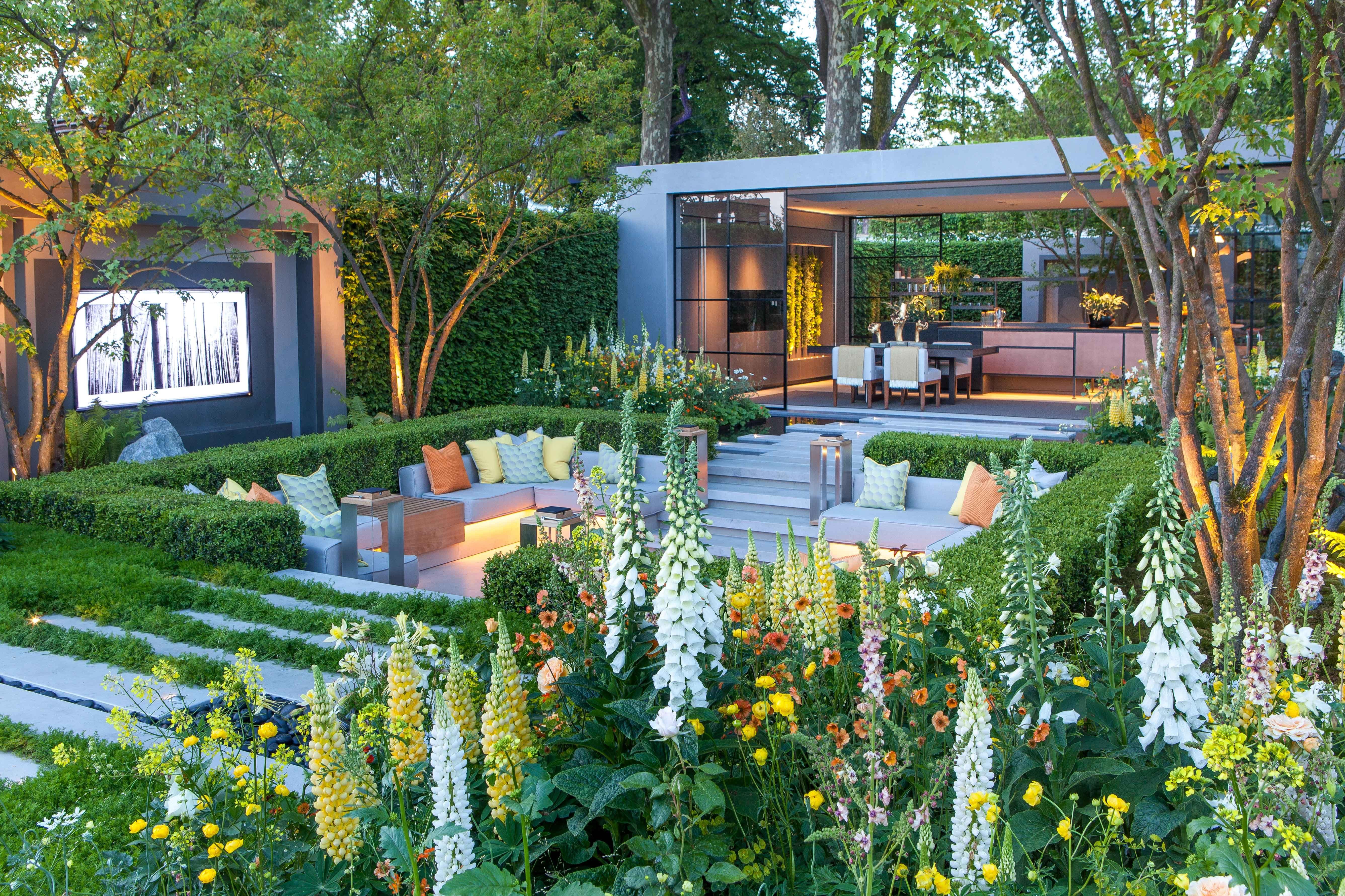 Great LG Eco City Garden   Chelsea Flower Show 2018
