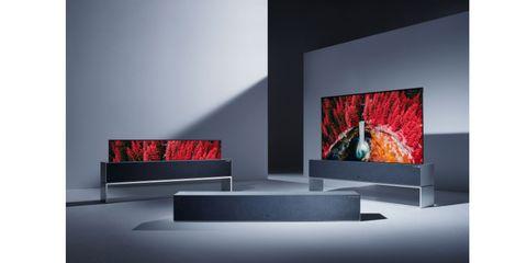 Led-backlit lcd display, Room, Modern art, Design, Technology, Lcd tv, Display device, Interior design, Art, Flat panel display,