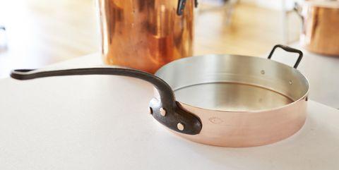 Frying pan, Cookware and bakeware, Copper, Iron, Saucepan, Sauté pan, Metal,