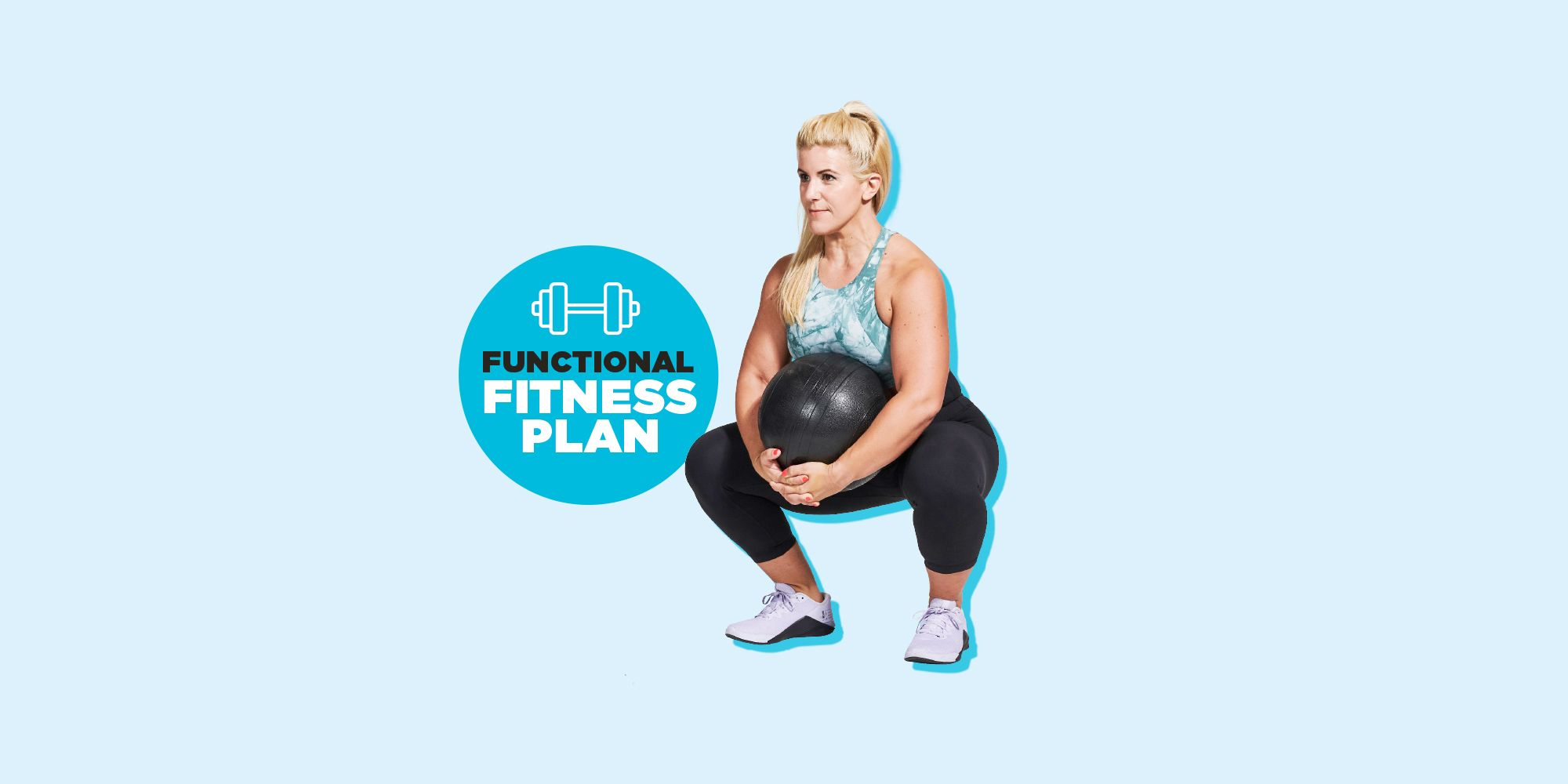 WH's 4-Week Functional Fitness Plan Will Get You Fitter and Stronger for Life