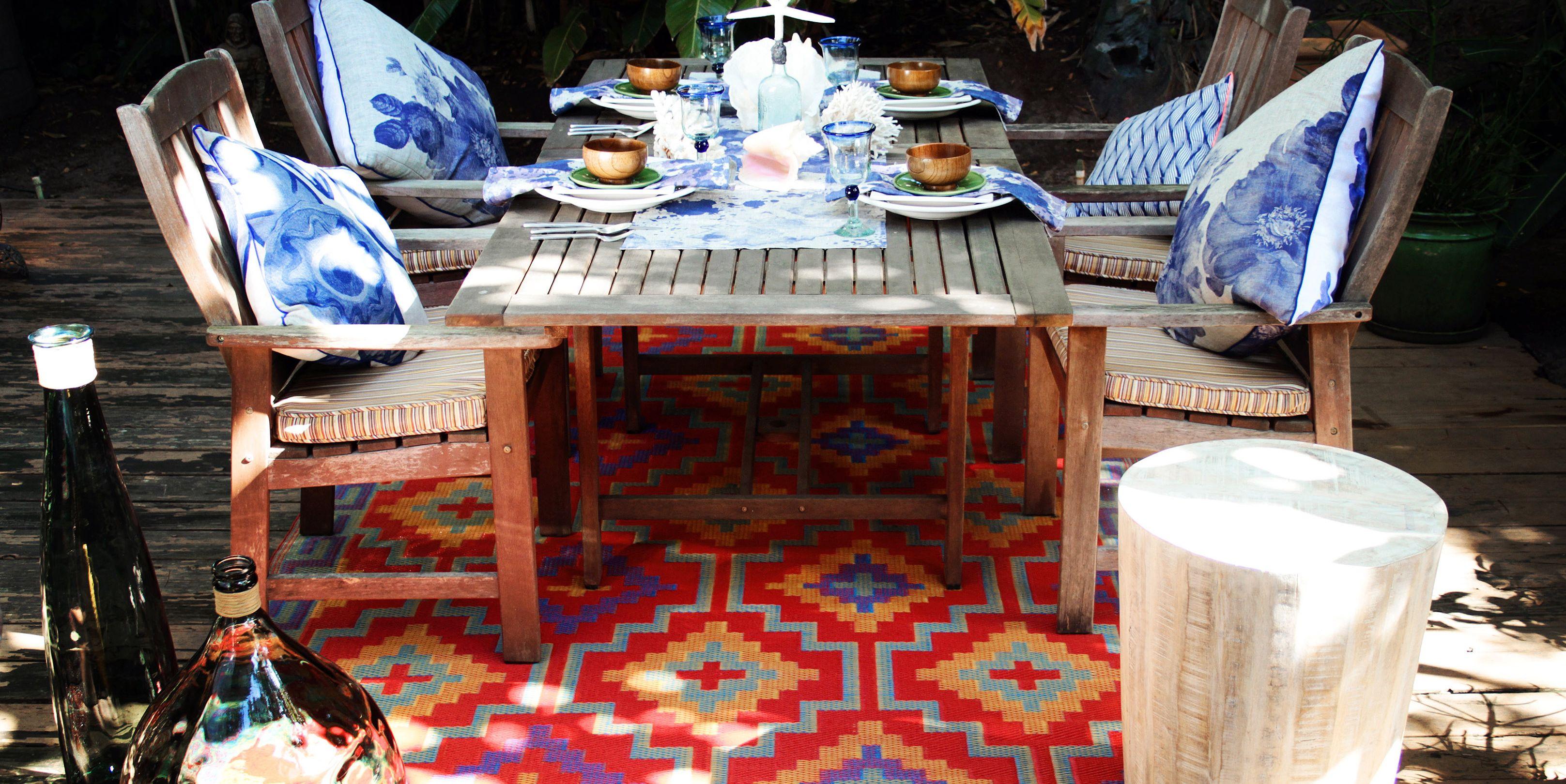 Fab Hab luxury indoor and outdoor rug