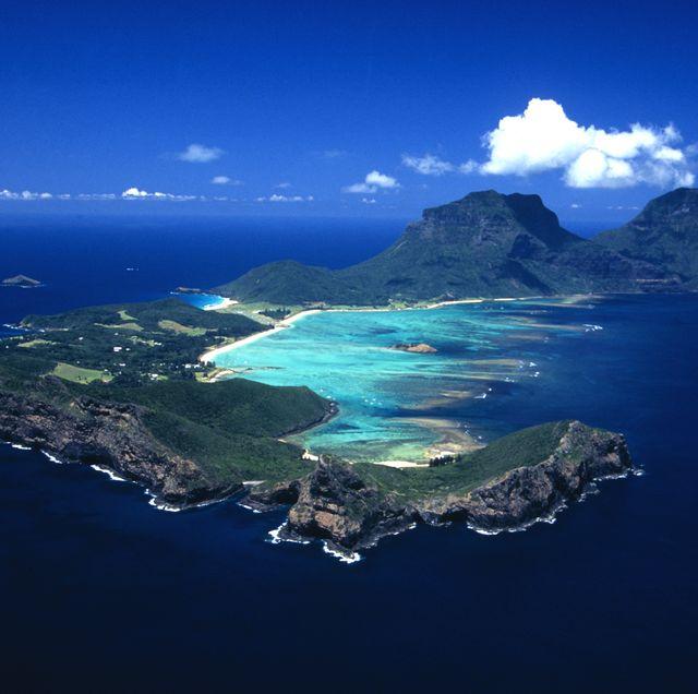 Lorde Howe Island in Austraulia