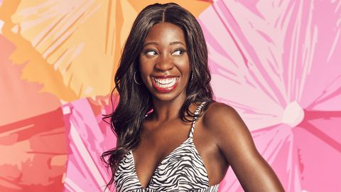 meet cashay pridefoot looking for love this summer on love island new episodes air tuesdays friday 900 1000h, etpt and sunday 900 11:00 am, etpt on cbs tv network and available to stream live and on demand on l cbs and paramount application photo sara mallycbs © 2021 cbs broadcast, inc all rights reserved