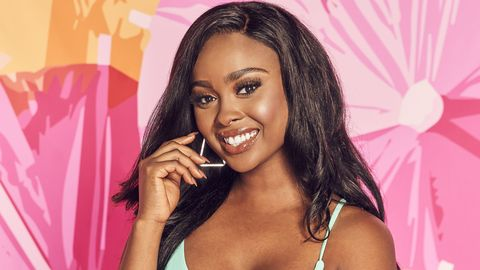 meet love-seeking trina njoroge this summer on love island new episodes air tuesdays friday 900 1000h, etpt and sunday 900 11:00 am, etpt on cbs tv network and available to stream live and on demand on l cbs and paramount application photo sara mallycbs © 2021 cbs broadcast, inc all rights reserved