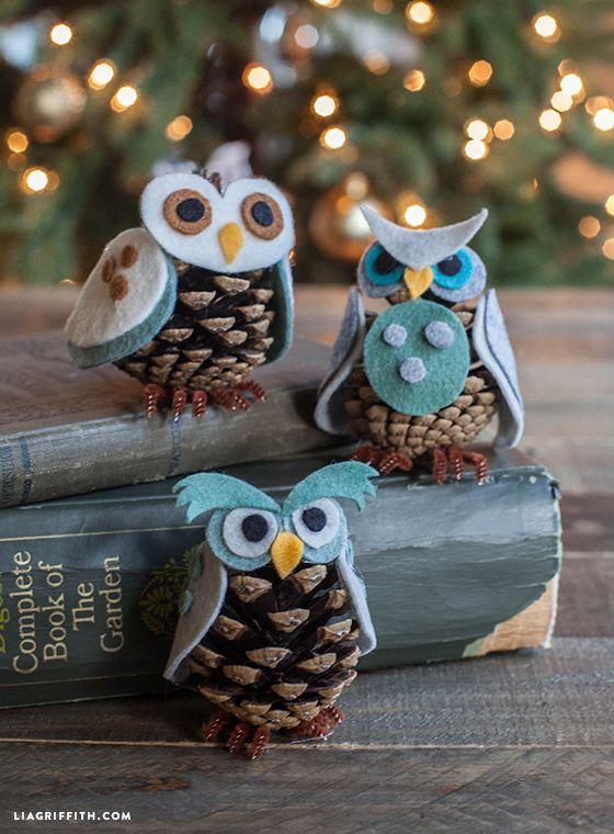 Creative Hands Felt Tote Owl Decorations Basteln & Kreativität
