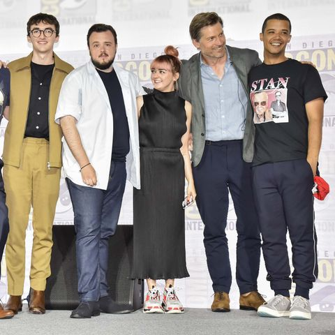 """""""Game Of Thrones"""" Comic Con Autograph Signing 2019"""