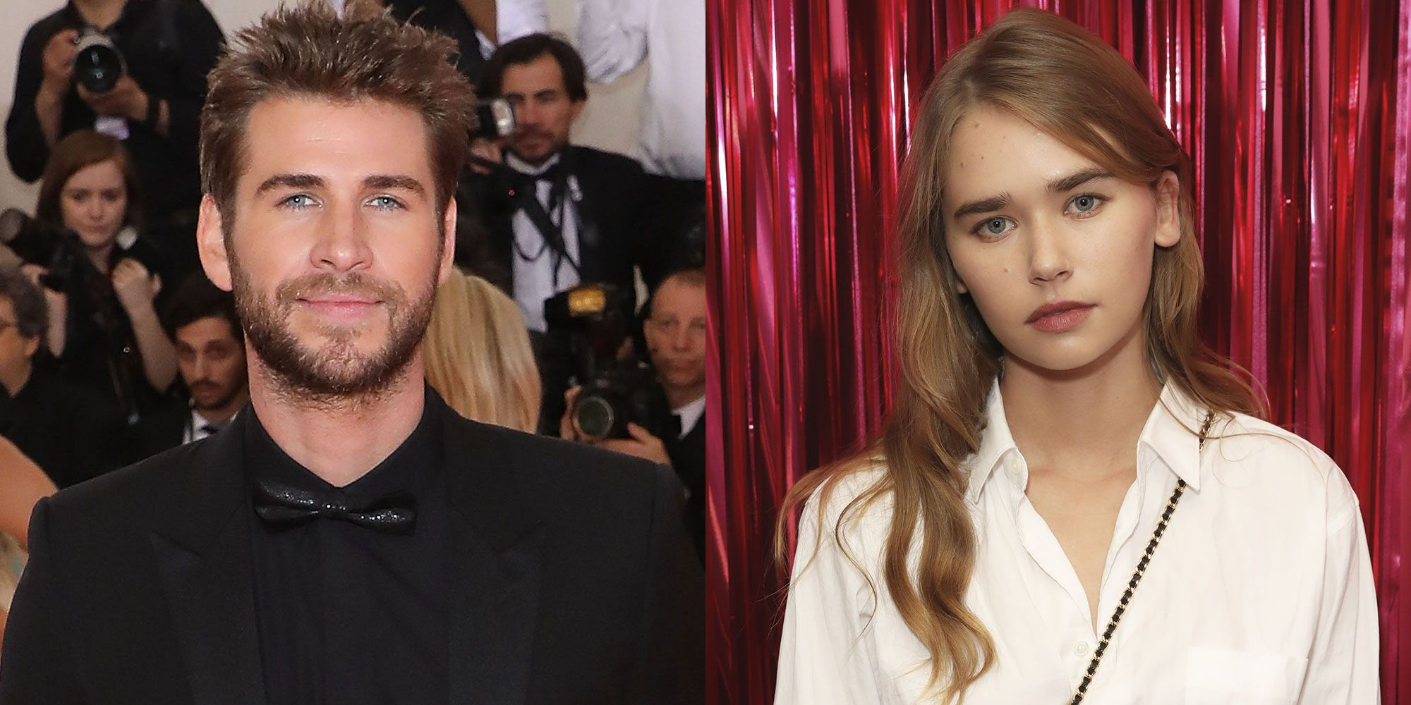 Liam Hemsworth Confirms He's Dating Gabriella Brooks With a Beach Kiss Photo