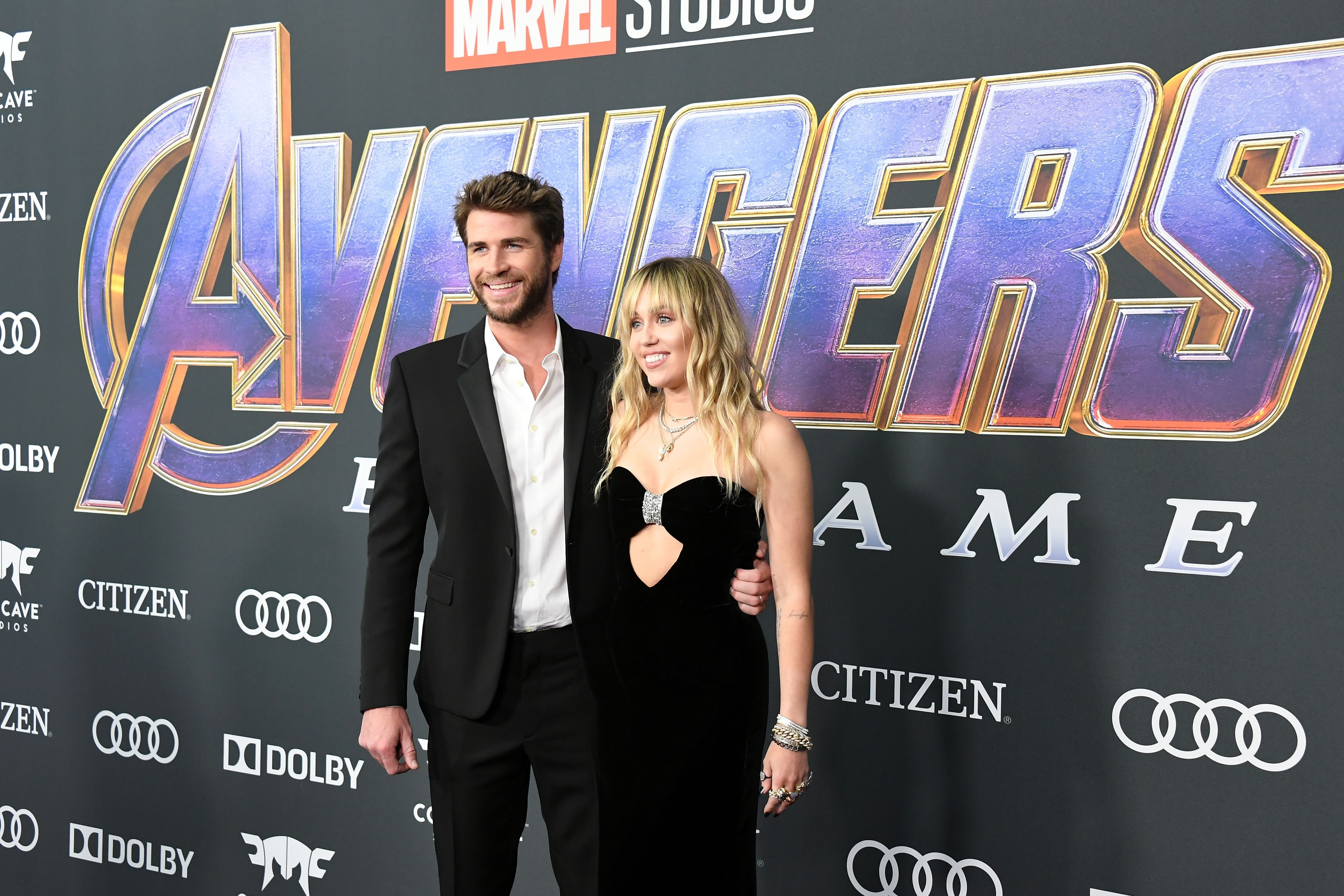 Miley Cyrus and Liam Hemsworth Were the Best Dressed Newlyweds at the 'Avengers: Endgame' Premiere