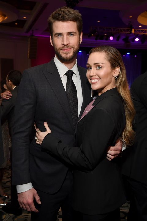 miley cyrus and liam hemsworth in february 2019
