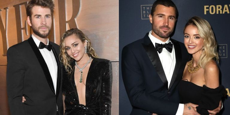 Miley Cyrus And Liam Hemsworth Used To 'Always Hang Out' With Brody Jenner And Kaitlynn Carter