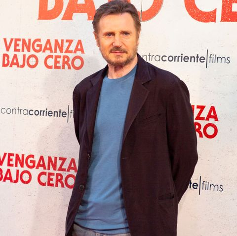 Liam Neeson The Cold Pursuit Spain Photocal