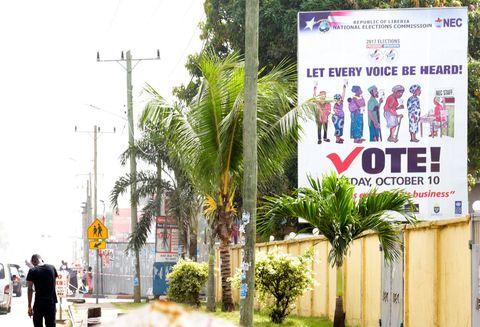 Elecciones en Liberia