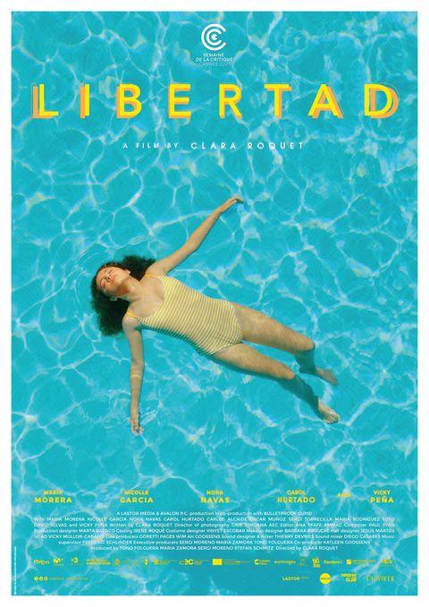 """cartel de """"libertad"""" de clara roquet"""