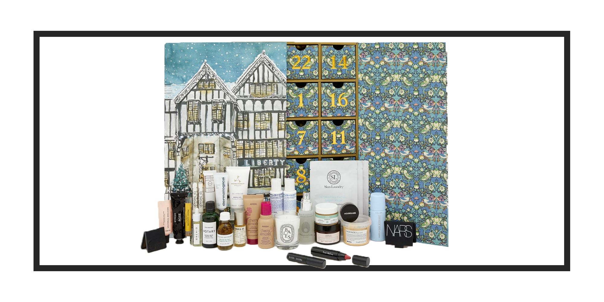 The Liberty London beauty advent calendar is on sale now