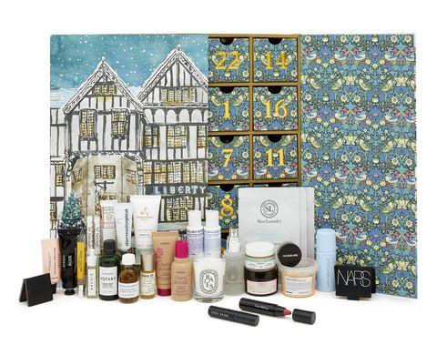 Birchbox Calendrier De Lavent 2020.First Look Liberty S Record Breaking Beauty Advent Calendar