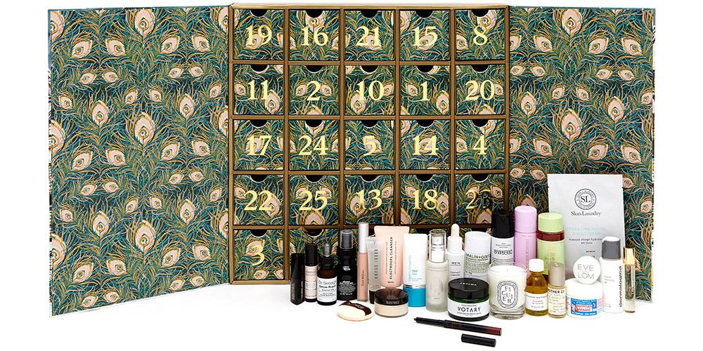 liberty london beauty advent calendar 2018 contents. Black Bedroom Furniture Sets. Home Design Ideas