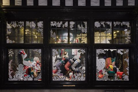 Liberty London Unveils Christmas Windows And A Magical