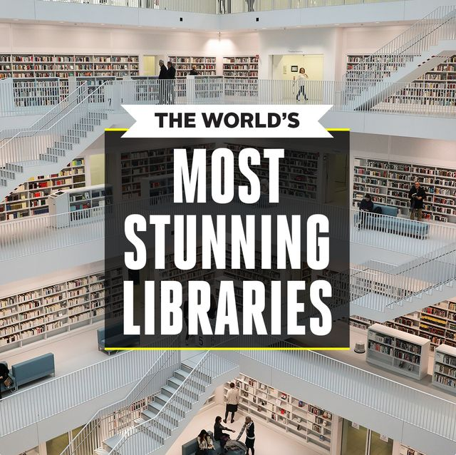 most stunning libraries