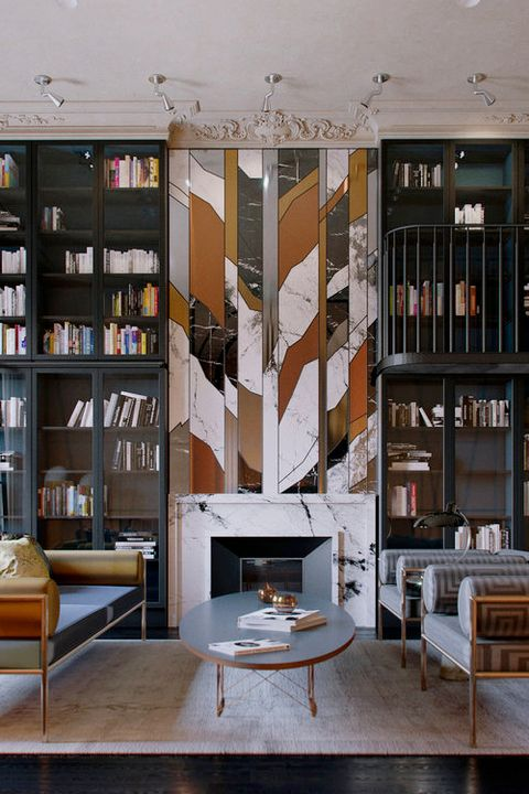 45 Home Library Design Ideas Best