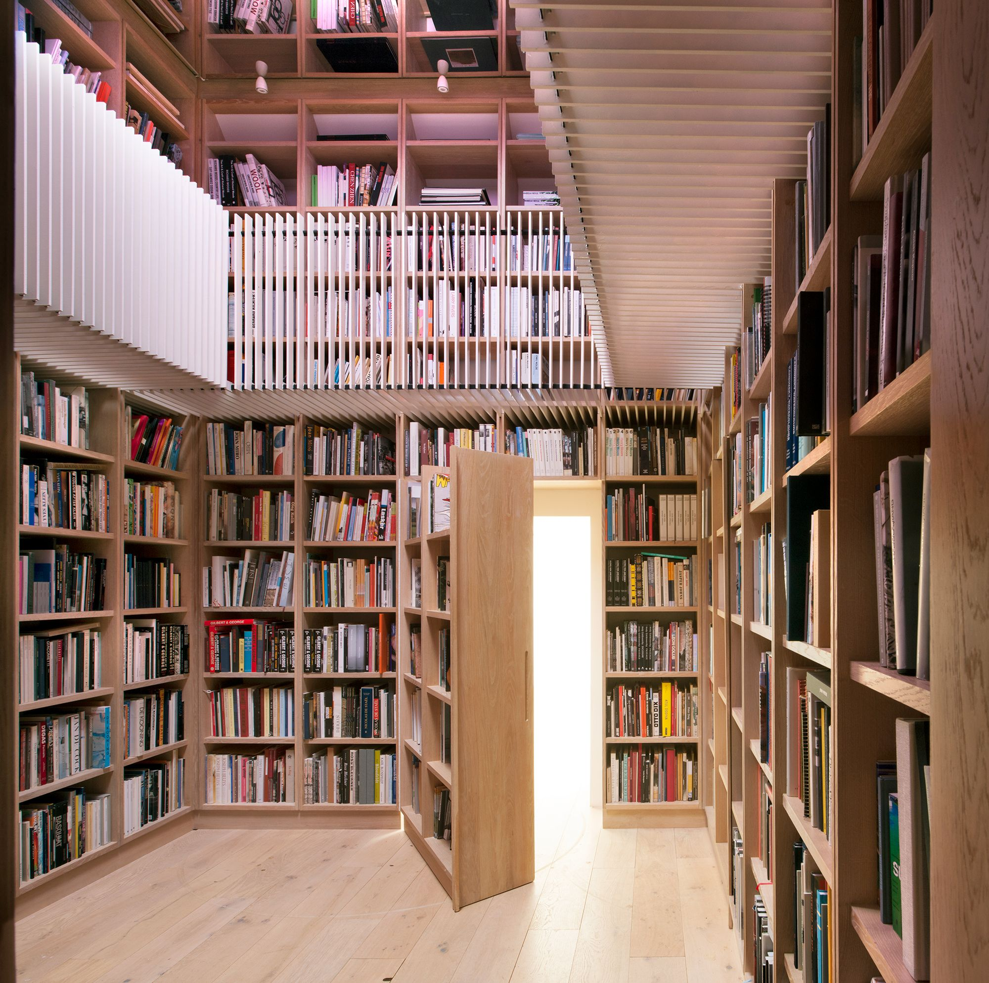 45 Library Design Ideas That'll Make You Want to Curl Up with a Book