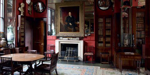 Building, Room, Furniture, Interior design, House, Architecture, Antique, Door,