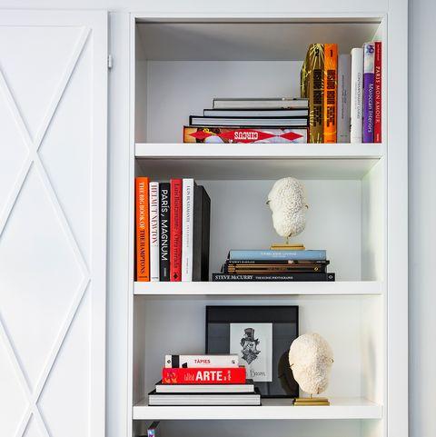 ideas para ordenar la librería y clasificar los libros