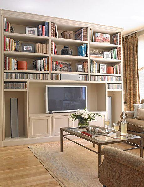 Shelving, Furniture, Shelf, Bookcase, Living room, Room, Interior design, Building, Computer desk, Property,