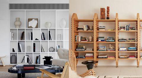 ideas de librerías para el salón