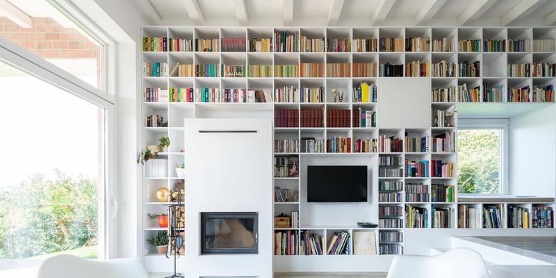 5 idee arredo con librerie moderne e di design da copiare subito - Librerie arredo design ...