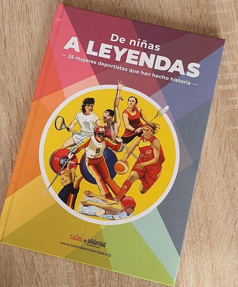 portada del libro 'de niñas a leyendas'